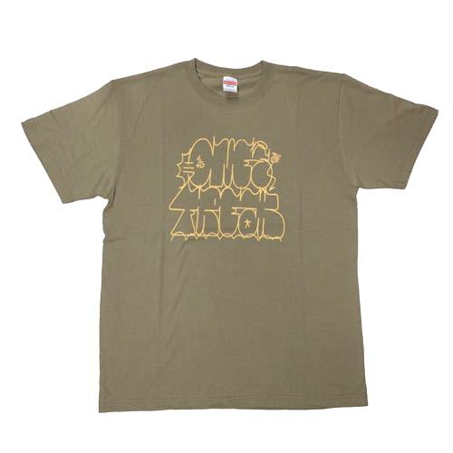 the-satoTシャツカーキ1